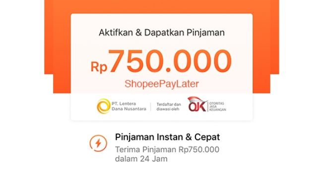 ShopeePayLater (shopee.co.id/)