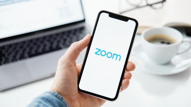 Aplikasi Zoom. [Shutterstock]