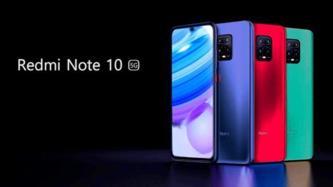 Redmi Note 10 5G. [Gizchina]