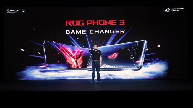 Peluncuran Asus ROG Phone 3, Rabu malam (22/7/2020). [Asus]