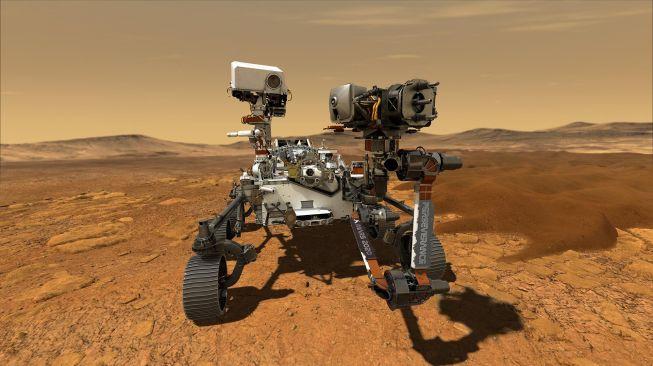 Perseverance di planet Mars. [NASA]