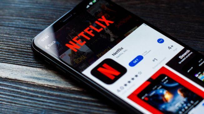 Ilustrasi aplikasi Netflix. [Shutterstock]