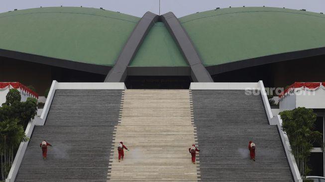 Ilustrasi Gedung DPR di Senayan, Jakarta. [Suara.com/Angga Budhiyanto]