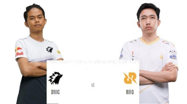 Jadwal MPL Indonesia Season 6 pekan kedua akan menampilkan laga ONIC.vs RRQ. [Suara.com/MPL Indonesia]