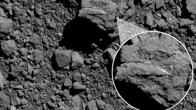 Asteroid Bennu. [NASA]