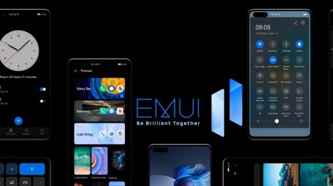 EMUI 11. [Huawei]