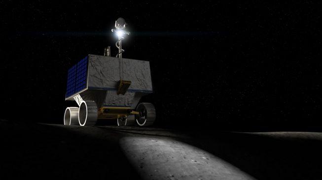 Penjelajah Bulan, Viper. [NASA]