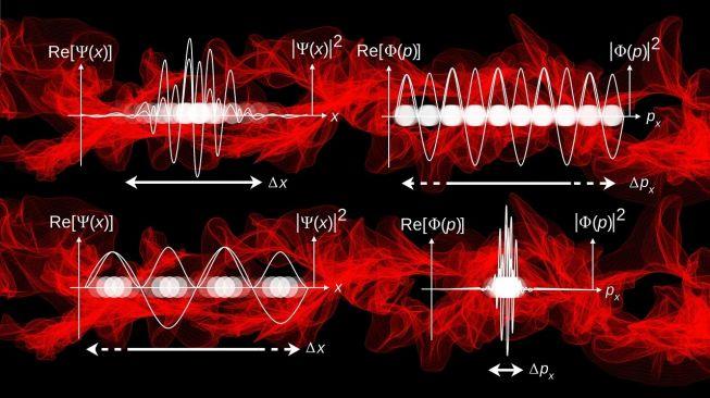 Ilustrasi mekanika kuantum. [Gerd Altmann/Pixabay]