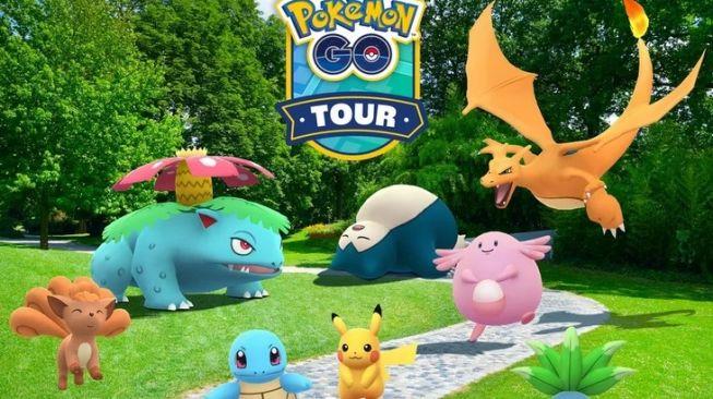 Pokemon Go Tour memperingati 25 tahun berdirinya game ini [Niantic/The Pokémon Company].
