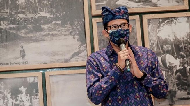 Menteri Pariwisata dan Ekonomi Kreatif/Kepala Badan Pariwisata dan Ekonomi Kreatif, Sandiaga Uno. (Dok: Kemenparekraf)