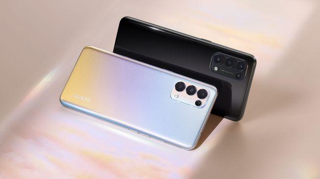 Oppo Reno5 5G akan turut diluncurkan bersama Reno5 reguler di Indonesia. [Oppo Indonesia]