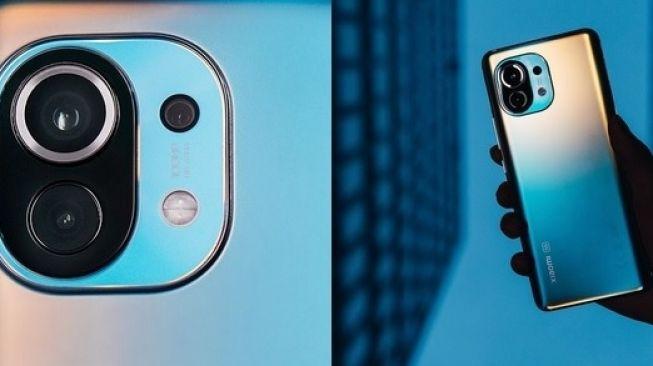 Spesifikasi Mi 11 yang diluncurkan Xiaomi malam tadi dengan versi Tiongkok pada Desember 2020 lalu tak banyak berbeda. [Instagram/Xiaomi]