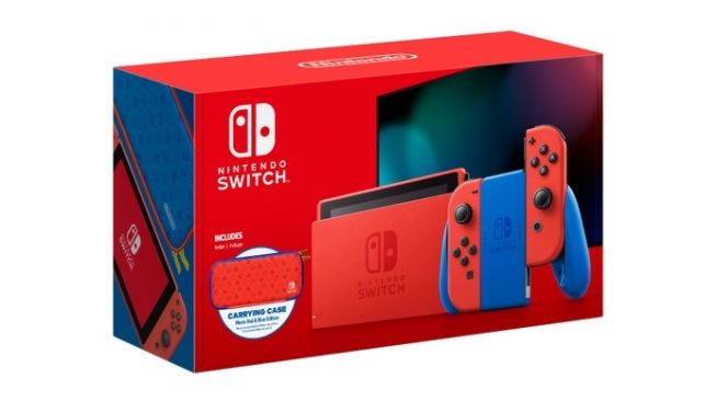 Nintendo Switch Mario Red & Blue Edition. [Nintendo]