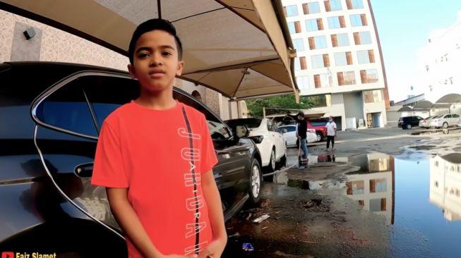 Farid, bocah 8 tahun keturunan Madura jadi miliarder di Arab 2 (YouTube).
