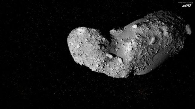 Asteroid Itokawa. [NASA]