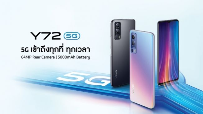 Vivo Y72 5G. [Vivo Thailand]