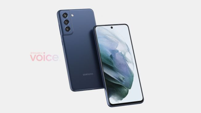 Samsung Galaxy S21 FE. [Voice/@onleaks]