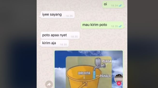 Meme menampar yang bikin pasangan sepakat putus (tiktok.com/@nabilies)