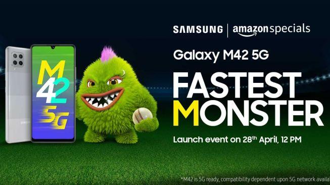 Samsung Galaxy M42 5G (Amazon.in)