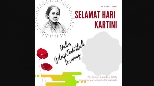 Twibbon Hari Kartini 2021: Link Download hingga Cara Mudah Membuatnya (twibbonize)