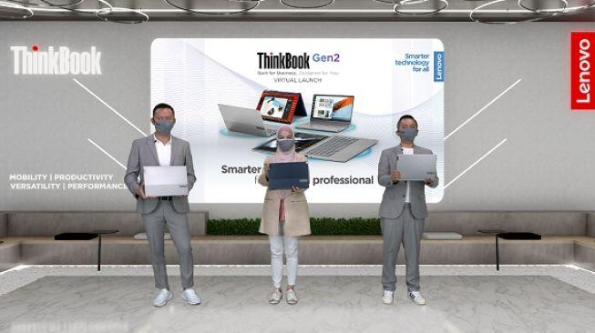 Peluncuran Lenovo ThinkBook Gen 2 pada Kamis (29/4/2021). [Dok Lenovo Indonesia]