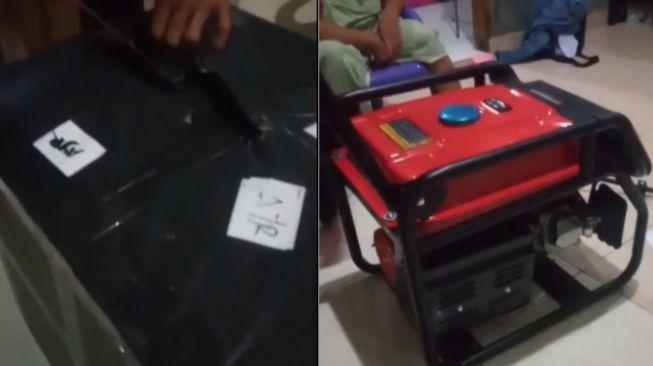 Bapak kepencet belanja online harga Rp 3 juta dibayar COD viral (TikTok).
