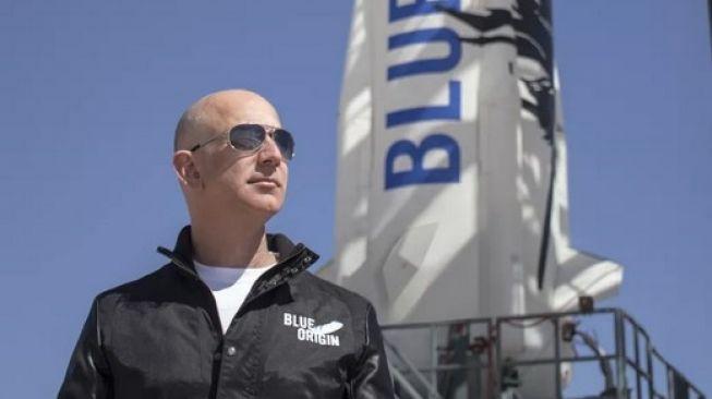 Jeff Bezos di platform Blue Origin [Blue Origin via Techradar].