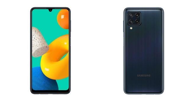 Foto Galaxy M32 sudah bocor di laman resmi Samsung. [Dok Samsung Mobile Press]