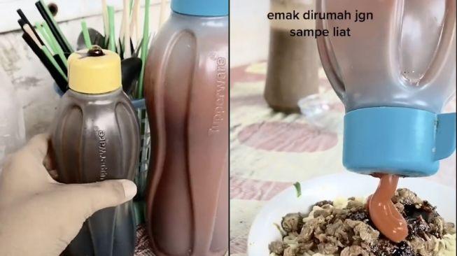 Tupperware Wadah Kecap (TikTok)