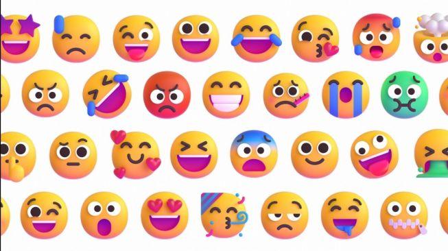 Emoji baru Microsoft. [Medium]