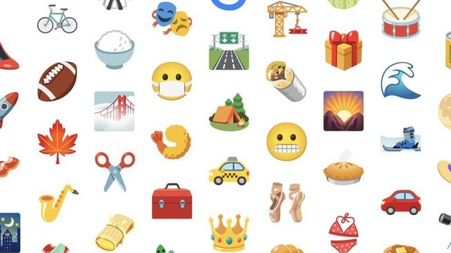 Google desain ulang emoji. [Google]