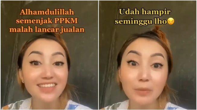 Viral Curhatan Wanita Lancar Jualan Sejak PPKM (Instagram)