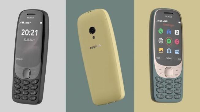 Nokia 6310 diluncurkan kembali dengan desain lebih canggih. [Youtube/Nokia Mobile]