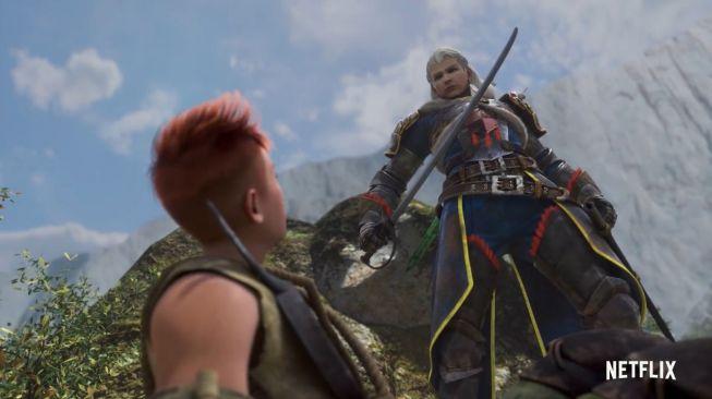Link nonton Monster Hunter: Legends of the Guild. (Netflix)