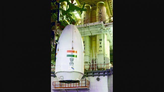 Roket GSLV-F10. [ISRO]