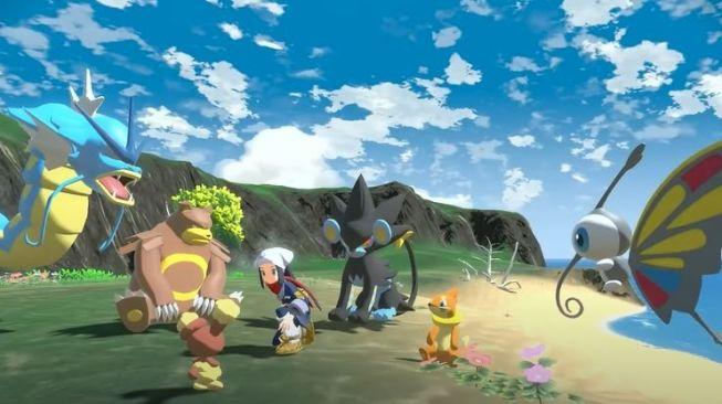 Pokemon Legends Arceus. (YouTube/ Official Pokemon)