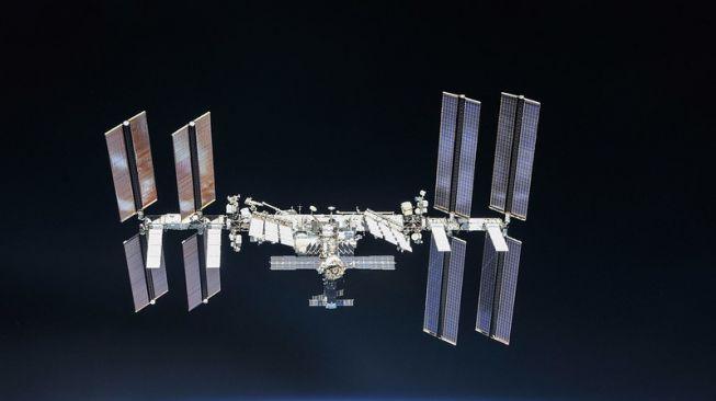 Stasiun luar angkasa Internasional (ISS). [NASA]