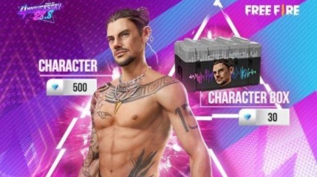 Cara mendapatkan karakter DJ Thiva Free Fire. Karakter Free Fire DJ Thiva diluncurkan bersamaan dengan karakter Dmitri, yang menjadi kakaknya.