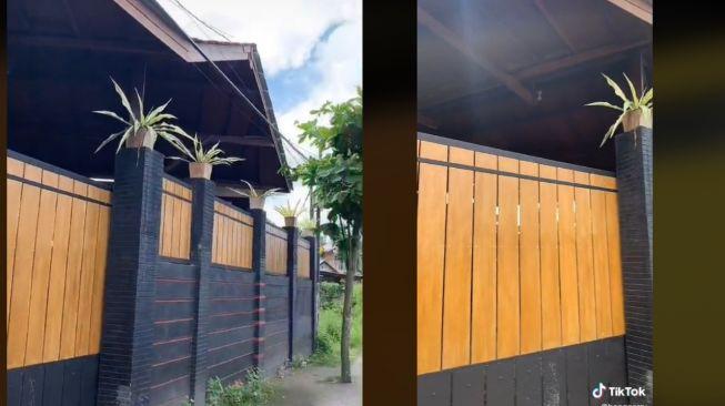 Viral Rumah dengan Pagar Tinggi, Publik Syok Lihat Dalamnya (TikTok)