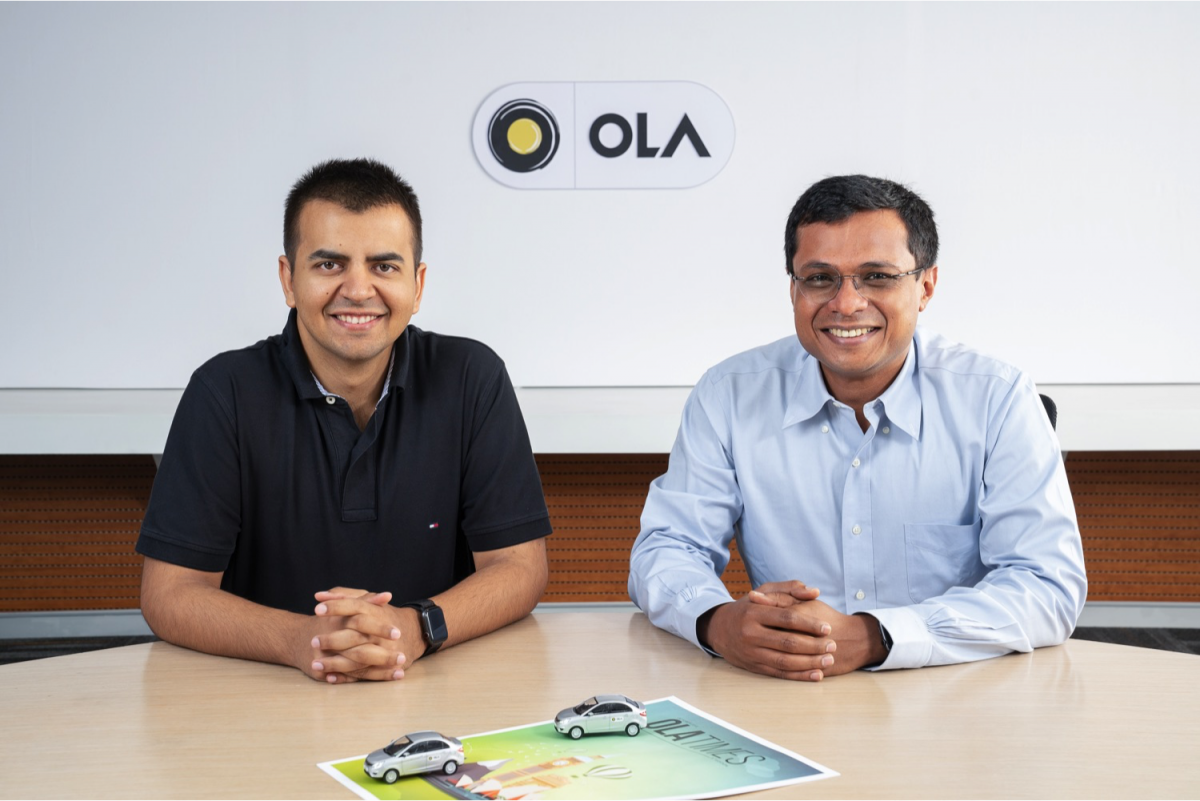 Sachin Bansal with Bhavish Aggrawal