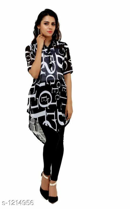 Kurta Sets Adorable Polyester Women Kurta Set  *Fabric* Kurti - Polyester, Leggings - Cotton  *Sleeves* 3/4th Sleeves Are Included  *Size* Top  *Type* Stitched  *Length* Kurti  *Description* It Has 1 Piece Of Kurti With 1 Legging  *Work* Kurti - Printed, Leggings  *Sizes Available* XXL   SKU: 3 Free shipping is available for this item. Pkt. Weight Range: 400  Catalog Name: Achala Glamarous Polyester Women Kurta Sets Vol 2 - Sharma Kurtis Code: 584-1214956--