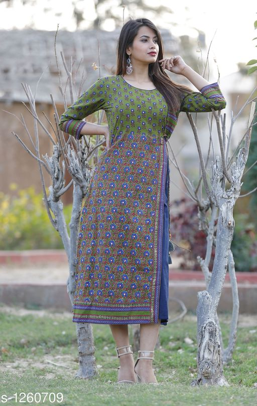 Kurtis & Kurtas Designer Women's Kurtis & Gown    *Fabric* Cotton  *Sleeves* Sleeves Are Included  *Size* S- 36 in, M- 38 in, L- 40 in, XL- 42 in , XXL - 44 in  *Length* Up To 48 in  *Type* Stitched  *Description* It Has 1 Piece Of Women's Kurti  *Work * Mirror Work  *Sizes Available* S, M, L, XL, XXL   Catalog Rating: ★3.6 (45) Supplier Rating: ★4.1 (2231) SKU: Blue Mirror work Kurta Shipping charges: Rs1 (Non-refundable) Pkt. Weight Range: 300  Catalog Name: Stylish Designer Women's Kurtis & Gowns Vol 1 - AA Retail Code: 487-1260709--428