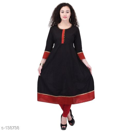 Kurtis & Kurtas Stylish Festive & Party wear Kurti  *Fabric* Kurti – Cotton   *Sleeves* Sleeves Are Included   *Size* S – 36 in, M – 38 in, L – 40 in, XL – 42 in, XXL – 44 in, XXXL – 46 in   *Length* Up To 44 in   *Type* Stitched   *Description* It Has 1 Piece Of Kurti   *Work* Printed  *Sizes Available* S, M, L, XL, XXL, XXXL   Catalog Rating: ★4 (149) Supplier Rating: ★4.2 (8857) SKU: AYN272-BKR Shipping charges: Rs1 (Non-refundable) Pkt. Weight Range: 300  Catalog Name: Prisha Printed Kurtis Vol 2#Re1shipping - Sale Mantra Code: 816-138738--076