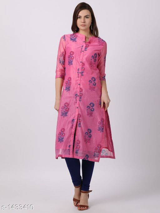 Kurtis & Kurtas Attractive Women's Kurti  *Fabric* Blend  *Sleeves* Sleeves Are Included  *Size* S- 36 in, M - 38 in, L - 40 in, XL - 42 in, XXL - 44 in  *Length* Up To 44 in  *Type* Stitched  *Description* It Has 1 Piece Of Women's Kurti  *Work* Embroidery Work  *Sizes Available* S, M, L, XL, XXL   Supplier Rating: ★4.1 (278) SKU: Festive Rang-1803-LT.PIN Free shipping is available for this item. Pkt. Weight Range: 300  Catalog Name: Alisha Attractive Women's Kurtis Vol 5 - ETB Code: 027-1433410--