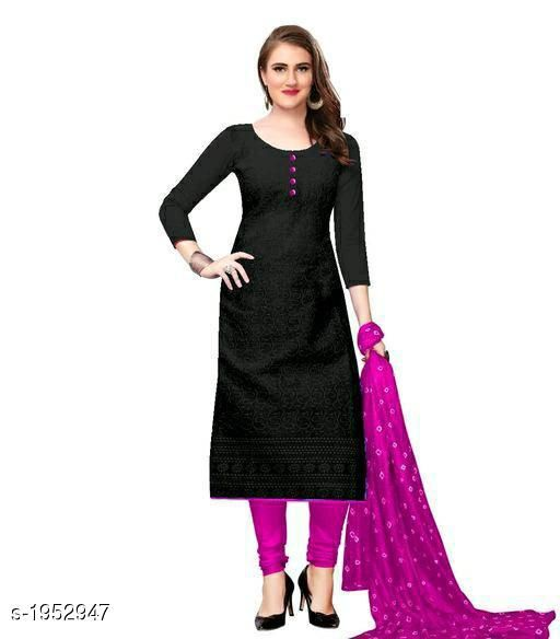 Kurtis & Kurtas Voguish Cotton Chikankari Kurtis With Dupatta  *Fabric* Kurti - Cotton , Dupatta - Cotton  *Sleeves* Sleeves Are Included  *Size* Kurti - M - 38 in, L - 40 in, XL - 42 in, XXL - 44 in , Dupatta - 2.25 Mtr  *Length* Up To 48 in  *Type* Stitched  *Description* It Has 1 Piece Of Women's Kurti With Dupatta  *Work* Chikankari Work  *Sizes Available* M, L, XL, XXL   Catalog Rating: ★3.8 (255) Supplier Rating: ★3.8 (5354) SKU: 101-FALSA Shipping charges: Rs49 (Non-refundable) Pkt. Weight Range: 500  Catalog Name: Abhisarika Voguish Cotton Chikankari Kurtis With Dupattas - CROP FASHIONS Code: 982-1952947--992
