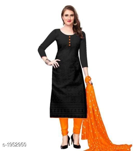 Kurtis & Kurtas Voguish Cotton Chikankari Kurtis With Dupatta  *Fabric* Kurti - Cotton , Dupatta - Cotton  *Sleeves* Sleeves Are Included  *Size* Kurti - M - 38 in, L - 40 in, XL - 42 in, XXL - 44 in , Dupatta - 2.25 Mtr  *Length* Up To 48 in  *Type* Stitched  *Description* It Has 1 Piece Of Women's Kurti With Dupatta  *Work* Chikankari Work  *Sizes Available* M, L, XL, XXL   Catalog Rating: ★3.8 (255) Supplier Rating: ★3.8 (5354) SKU: 101-ORANGE Shipping charges: Rs49 (Non-refundable) Pkt. Weight Range: 500  Catalog Name: Abhisarika Voguish Cotton Chikankari Kurtis With Dupattas - CROP FASHIONS Code: 982-1952950--992