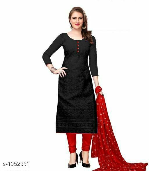 Kurtis & Kurtas Voguish Cotton Chikankari Kurtis With Dupatta  *Fabric* Kurti - Cotton , Dupatta - Cotton  *Sleeves* Sleeves Are Included  *Size* Kurti - M - 38 in, L - 40 in, XL - 42 in, XXL - 44 in , Dupatta - 2.25 Mtr  *Length* Up To 48 in  *Type* Stitched  *Description* It Has 1 Piece Of Women's Kurti With Dupatta  *Work* Chikankari Work  *Sizes Available* M, L, XL, XXL   Catalog Rating: ★3.8 (255) Supplier Rating: ★3.8 (5354) SKU: 101-RED Shipping charges: Rs49 (Non-refundable) Pkt. Weight Range: 500  Catalog Name: Abhisarika Voguish Cotton Chikankari Kurtis With Dupattas - CROP FASHIONS Code: 982-1952951--992