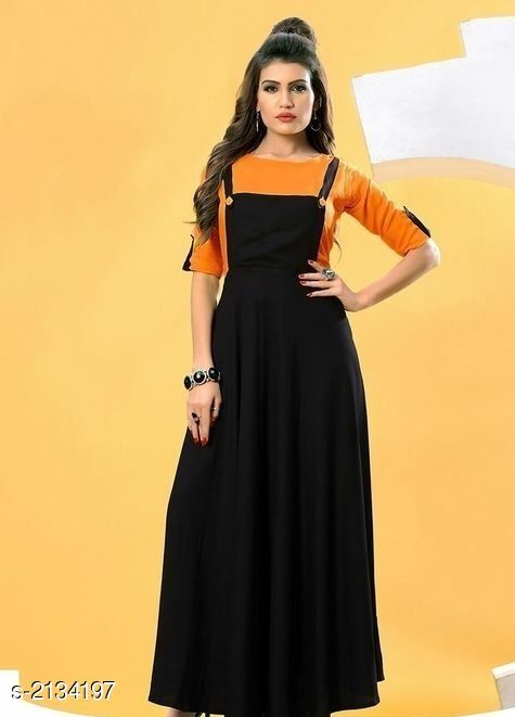 Kurtis & Kurtas  Attractive Rayon Women's Kurti & T-shirt  *Fabric * Kurti - Rayon 14 kg, T-shirt - Rayon 14 kg  *Sleeves* Kurti - Sleeves Are Not Included, T-shirt - Sleeves Are Included  *Size* Kurti - L- 40 in, XL- 42 in, XXL- 44 in, T-shirt - L- 40 in, XL- 42 in, XXL- 44 in  *Length* Kurti - Up To 50 in, T-shirt - Up To 18 in  *Type* Stitched  *Description* It Has 1 Piece Of Women's Kurti With 1 Piece Of T-shirt  *Pattern* Kurtis - Solid , T- Shirt - Solid  *Sizes Available* L, XL, XXL   Catalog Rating: ★3.8 (6) Supplier Rating: ★3.6 (1153) SKU: Orange Rayon Free shipping is available for this item. Pkt. Weight Range: 500  Catalog Name: Faatina Attractive Rayon Women's Kurtis & T-shirts Vol 3 - AKK STORE Code: 637-2134197--