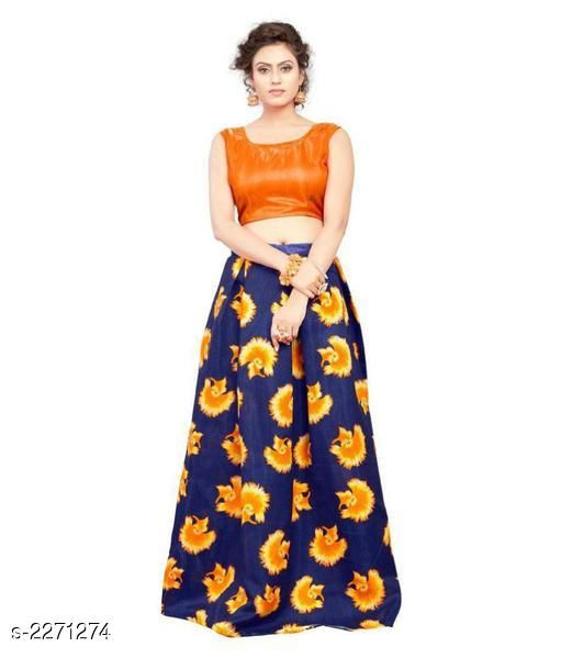 Lehengas Partywear Satin Women's Printed Lehengas  *Fabric* Lehenga - Satin, Blouse - Satin  *Size* Lehenga- Up To 44 in  , Blouse - 0.80 Mtr  *Length* Lehenga -  Up To 42 in  *Flair* Lehenga - 2.25 Mtr  *Type* Lehenga - Semi - Stitched, Blouse - Un-Stitched  *Description* It Has 1 Piece Of Lehenga With 1 Piece Of Blouse  *Work* Lehenga - Printed ,  Pattern  *Sizes Available* Semi Stitched   Supplier Rating: ★3.5 (52) SKU: SKULC05 Shipping charges: 49 Pkt. Weight Range: 500  Catalog Name: Beautiful Partywear Satin Women's Printed Lehengas Set  Vol 2 - OMS Fashion Code: 033-2271274--