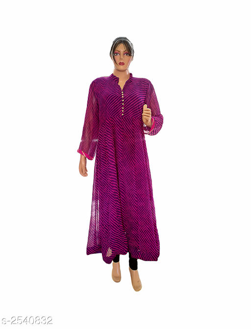 Kurtis & Kurtas Elegant Style Printed Kurti  *Fabric* Georgette  *Sleeves* 3/4 Sleeve Are Included  *Size* XL- 42 in  *Length* Up To 48 in  *Type* Stitched  *Description* It Has 1 Piece Of Women's Kurti  *Work* Printed  *Sizes Available* XL   Supplier Rating: ★3.9 (359) SKU: Kurti---4023  Free shipping is available for this item. Pkt. Weight Range: 300  Catalog Name: Allure Elegant Style Printed Kurtis vol 8 - Ard Fashion Code: 019-2540832--